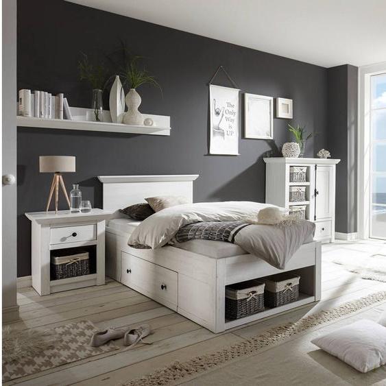Liliann Schlafzimmerset Weiß