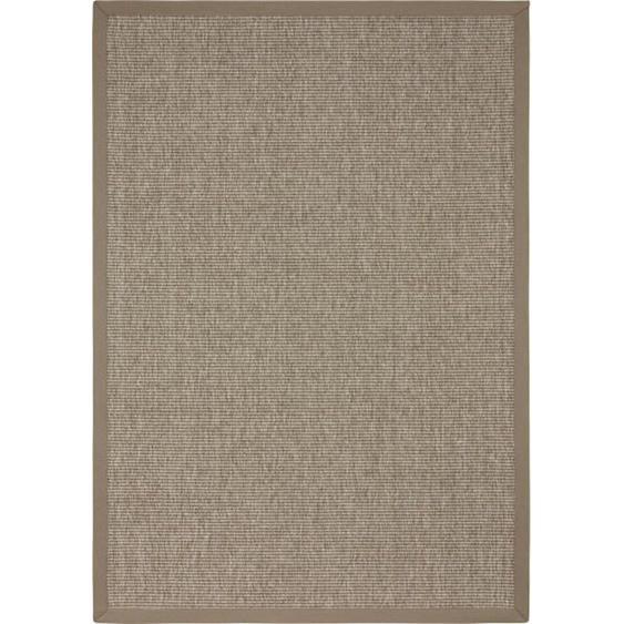 Linea Natura Outdoorteppich In-/ Outdoor 200/290 cm Grau , Textil , 200 cm