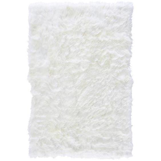 Linea Natura Schaffell 100/150 cm Weiß , Textil , Uni , 100 cm