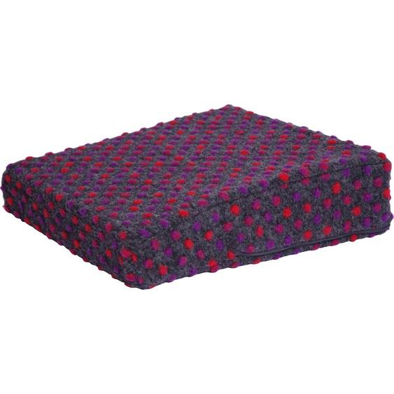 Linke Licardo Keilkissen Aufstehhilfe Punkte, aus reiner Schurwolle B/L: 40 cm x cm, 1 St. schwarz Sitzkissen Kissen