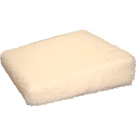 Linke Licardo Keilkissen Aufstehhilfe Uni, aus reiner Schurwolle B/L: 40 cm x cm, 1 St. weiß Sitzkissen Kissen