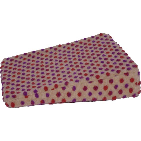 Linke Licardo Keilkissen Punkte, aus reiner Schurwolle B/L: 40 cm x cm, 1 St. braun Sitzkissen Kissen