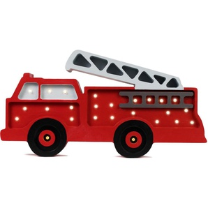 little lights LED Tischleuchte »Feuerwehr«, mit Dimmer und Fernbedienung, Timer