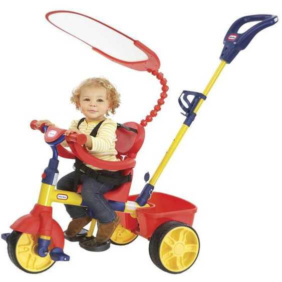 Little Tikes Dreirad 4-in-1 Bunt
