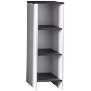 Xora: Badezimmer, Holzwerkstoff, Grau, Weiß, B/H/T 32 103 28