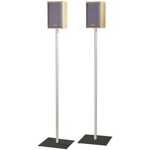 Livetastic Boxenständer , Mehrfarbig , Metall, Glas , 26x107x26 cm