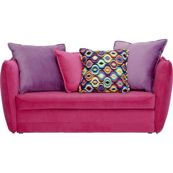 Livetastic Jugend- UND Kindersofa Mikrofaser Rosa , Textil , 145x63-77x75 cm
