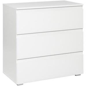 Carryhome: Kommode, Weiß, B/H/T 80 80 45