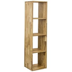 Carryhome: Regal, Holz,Wildeiche, Eiche, B/H/T 39 150 35