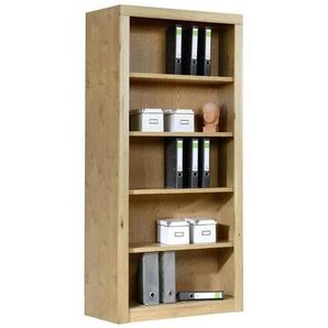 Carryhome: Regal, Holzwerkstoff,Eiche, Eiche, B/H/T 90 190 42