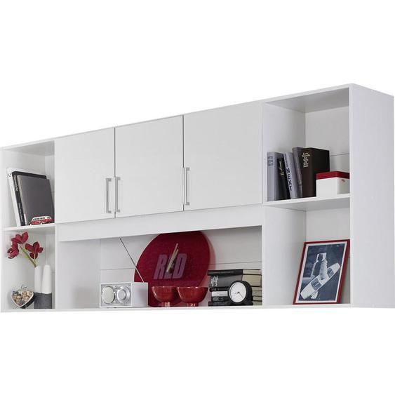 Livetastic Regal Weiß , Kunststoff , 212x93x38 cm