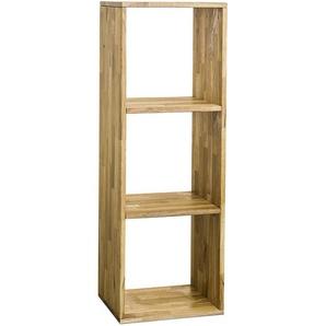 Carryhome: Regal, Holz,Wildeiche, Eiche, B/H/T 39 113 35