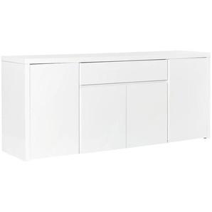 SIDEBOARD Hochglanz, lackiert Weiß