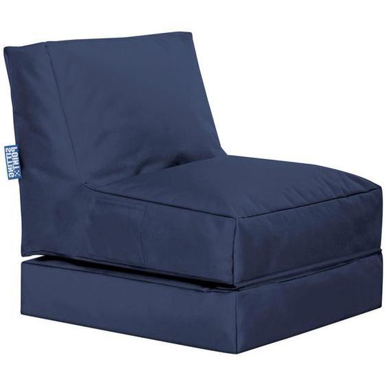 Livetastic Sitzsack Blau , Textil , 300 L , 70x80x90 cm