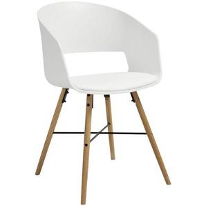 Carryhome: Stuhl, Weiß, B/H/T 51,5 80,5 52