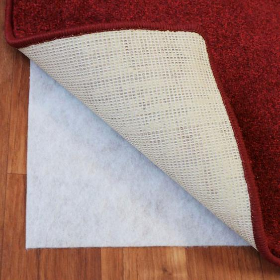Living Line Antirutsch Teppichunterlage Teppich Stop, Anti Rutsch Vlies B/L: 160 cm x 230 beige Teppichunterlagen Teppiche