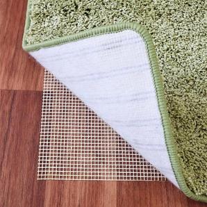 Living Line Antirutsch Teppichunterlage Teppich Stop, Gitter-Rutschunterlage, individuell zuschneidbar, Wohnzimmer B/L: 120 cm x 190 beige Teppichunterlagen Teppiche