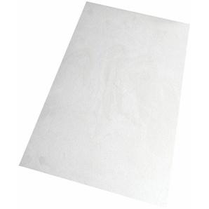 Living Line Teppich Prestige, rechteckig, 16 mm Höhe, Velours, Wohnzimmer B/L: 240 cm x 360 cm, 1 St. weiß Esszimmerteppiche Teppiche nach Räumen
