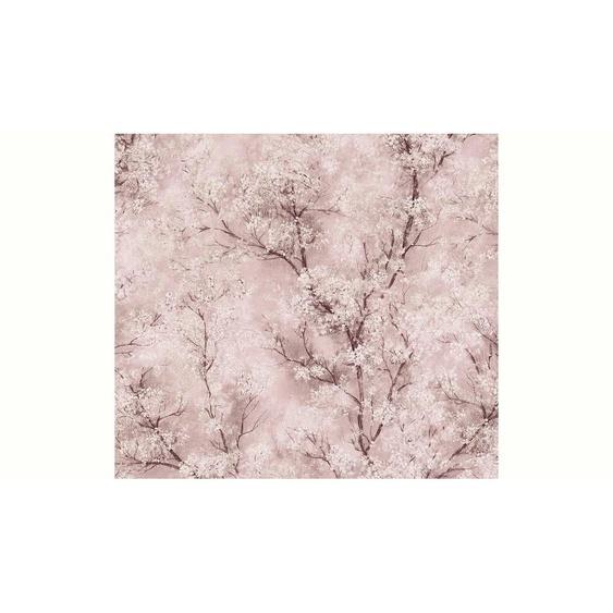 living walls Vliestapete »New Walls Cosy & Relax mit Kirschblüten«, floral
