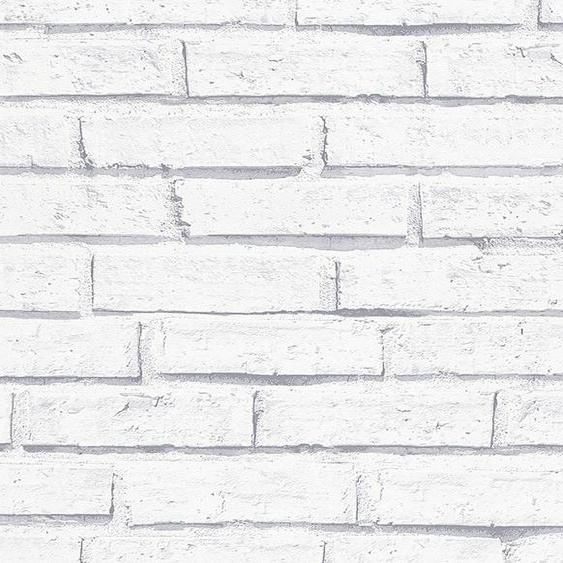 LIVINGWALLS Papiertapete »Authentic Walls Backstein Optik«