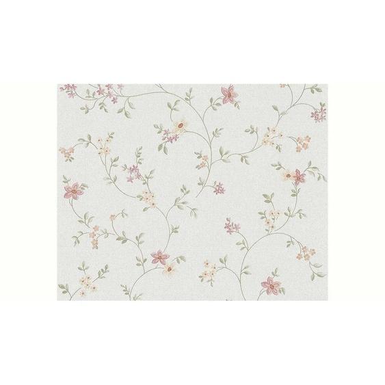 LIVINGWALLS Vliestapete »Fleuri Pastel Landhaus Stil floral«