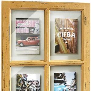 Home affaire Bilderrahmen, für 4 Bilder, Bilderhalter Window für 4 Bilder