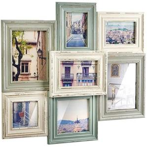 Home affaire Bilderrahmen »Collage«, für 7 Bilder, Vintage für 7 Bilder