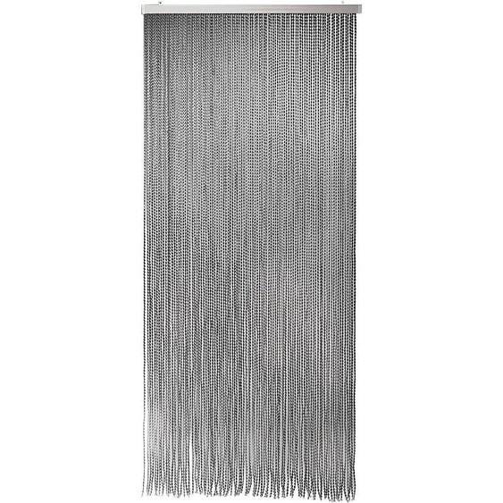locker Türvorhang Bonbon, aus Polyester, 94 Stränge 200 cm, Hakenaufhängung, 90 cm bunt Wohnzimmergardinen Gardinen nach Räumen Vorhänge