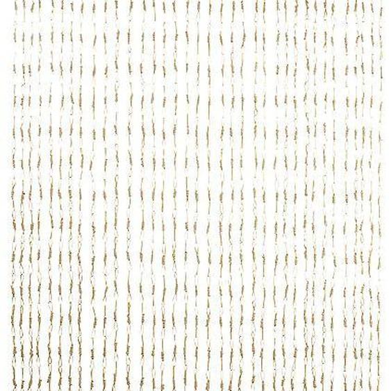 locker Türvorhang CIRCLES 200 cm, Hakenaufhängung, 90 cm beige Wohnzimmergardinen Gardinen nach Räumen Vorhänge