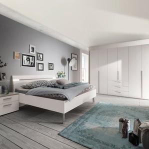 Loddenkemper Schlafzimmer-Set, Weiß, Lack