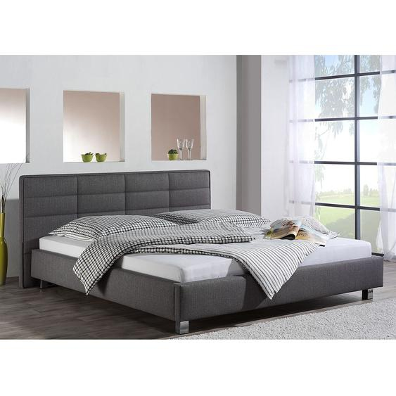 loftscape Polsterbett Parsberg 180x200 cm Webstoff Grau Modern