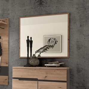 loftscape Spiegel Moosic Eiche Artisan Dekor Modern Spanplatte 80x70x2 cm (BxHxT)