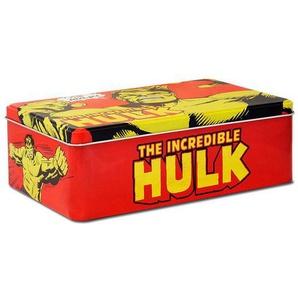 LOGOSHIRT Blechdose mit coolem Hulk-Motiv