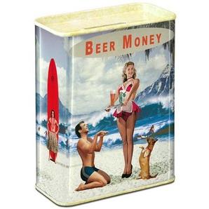 LOGOSHIRT Spardose im Beer Money-Design
