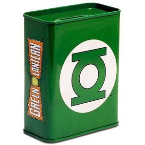 LOGOSHIRT Spardose mit Green Lantern-Logo