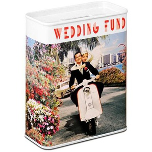 LOGOSHIRT Spardose mit Hochzeits-Motiv