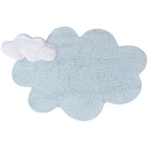 Lorena Canals Washable Rug Puffy Dream Blue