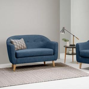 Lottie 2-Sitzer Sofa, Hafenblau