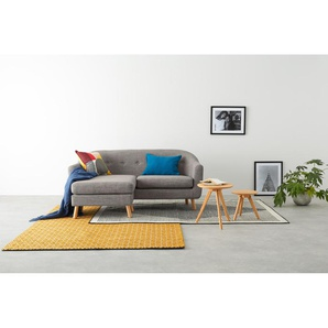 Lottie 2-Sitzer Sofa mit Recamiere, Kreidegrau