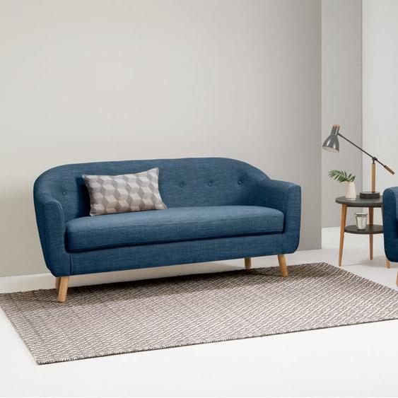 Lottie 3-Sitzer Sofa, Hafenblau