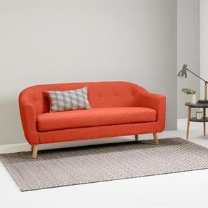 Lottie 3-Sitzer Sofa, Toskanaorange