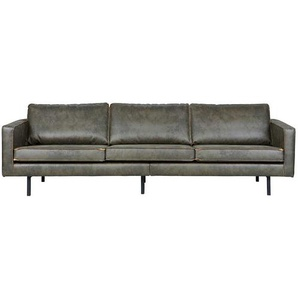 Lounge Couch in Oliv Gr�n modern