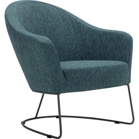 Lounge-Sessel , FSC®-zertifiziert, blau »Grape«, LOVI»Grape«