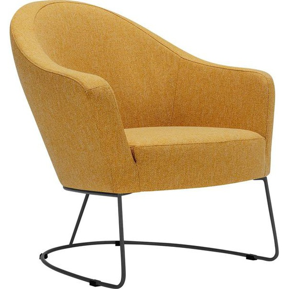 Lounge-Sessel , FSC®-zertifiziert, gelb »Grape«, LOVI»Grape«