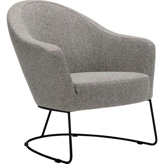 Lounge Sessel  »Grape«, FSC®-zertifiziert, grau, LOVI»Grape«
