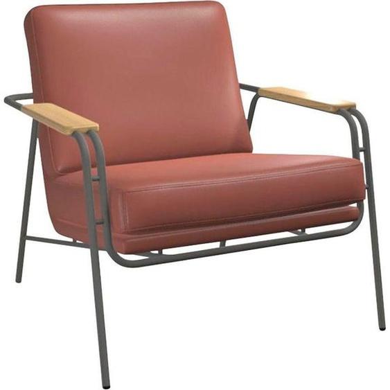 Lounge-Sessel , orange »TIBBE«, bert plantagie, lackiert»TIBBE«
