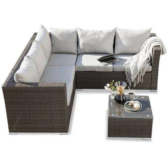 Loungemöbel Set, Polyrattan