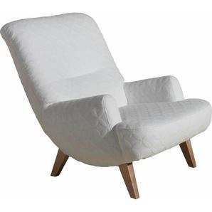 Loungesessel , weiß, FSC-Zertifikat, »Borano«, , , Max Winzer®