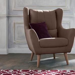 Loungesessel , braun, FSC-Zertifikat, »Trift«, , , Guido Maria Kretschmer Home&Living