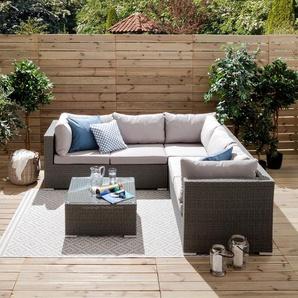 Garten-Loungemöbel in Grau - Preise & Qualität vergleichen | Möbel 24